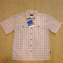 Patagonia m's Island Hopper Shirt 52169 Sayulita Sunset Size Medium Photo