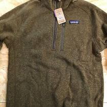Patagonia Men's Better Sweater 1/4-Zip Fleece Jacket Size Small  (Brown) Nwt Photo