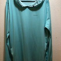 Patagonia Mens  Comfort Cool Hoodie Size Large Teal Colored Photo