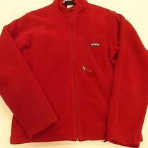 Patagonia Men's Fleece Jacket / New Other / S Small / Christmas Red Photo
