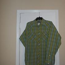 Patagonia Men's Long Sleeve Organic Cotton Snap Front Western Shirt Size Small Photo