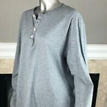 Patagonia Mens Long Sleeved Feather Gray Daily Henley Shirt L  Photo