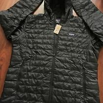 Patagonia Men's Nano Puff Hoody Color Black Size Xl New With Tags Photo