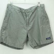 Patagonia Men's Organic Cotton Chino Shorts Gray Size 33 Photo