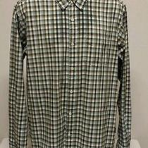 Patagonia Men's Organic Cotton Long Sleeve Soft Casual Dress Shirt Euc Nice Photo