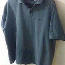 Patagonia Men's Organic Cotton Polo Shirt Sz Xl Blue Photo