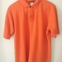 Patagonia Men's Polo Small Orange Photo