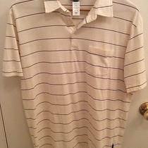 Patagonia Men's Striped Organic Cotton Short Sleeve Polo Shirt Size Large Photo