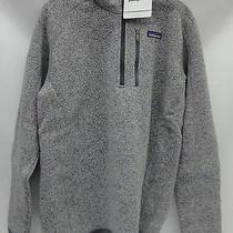 Patagonia Mens Better Sweater 1/4 Zip Pullover 25522 Stonewash Size Medium Photo