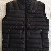Patagonia Mens' Down Sweater Vest Xl Black F12 800 Fill Nwt Extra Large  Photo