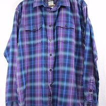 Patagonia Mens L Long-Sleeved Buckshot Flannel Shirt Organic Plaid Midweight Photo