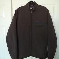 Patagonia Mens  Softshell  Full  Zip Jacket  Gray  Medium  Excellent Cond. Photo