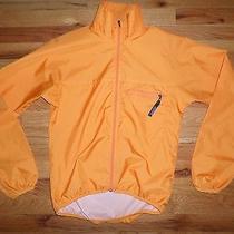 Patagonia Mens Womens Xs Windbreaker Lightweight Jacket Zip Front Orange Vguc Photo