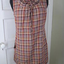Patagonia on-My-Own Plaid Cowlneck Dress 8 Photo