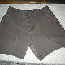 Patagonia Organic Cotton Shorts Women's Size10 Green 100% Cotton Nice Photo