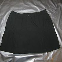 Patagonia Organic Cotton Skirt Dark Green Mini Size 10 Pleated Casual Outdoors Photo