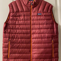 Patagonia Puffer Vest - Maroon - Mens Size Large Photo