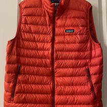 Patagonia Puffer Vest - Red - Mens Size Large Photo