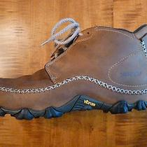 Patagonia Ranger Smith Waterproof Chukka Boots Teakwood Leather 11.5 Preowned Photo