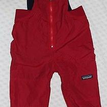 Patagonia Red Snow Pants Size 18 Months Photo