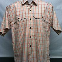 Patagonia S/s Island Hopper Shirt Men's Medium Sayulita/sunset Photo