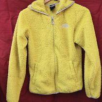 Patagonia Small Bright Yellow Fluffy Fleece Hooded Jacket - Zipped Photo