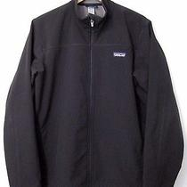 Patagonia Softshell Jacket Men's Size L Black  Photo