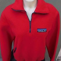 Patagonia Solid Redfleece Pullover Size S Photo