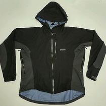 Patagonia Stretch Element Water Resistant Jacket Black Grey Xl Hiking Camping  Photo