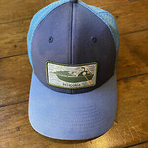 Patagonia Surf Trucker Snapback Hat Unicorn Rare Photo