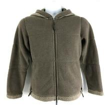 Patagonia Synchilla Full-Zip Fleece Hoodie Beige Jacket Womens Small Photo