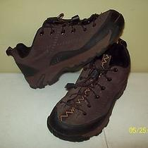 Patagonia  Sz 5 Brown Leather  Athletic Sneakers Oxford Shoes  Eur 36   Brkb-2  Photo