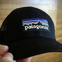 Patagonia Trucker Hat Low Black One Size Photo