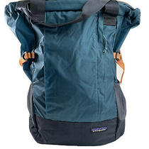 Patagonia Unisex Turquoise Blue Lightweight Travel Tote Back Pack All One Size Photo