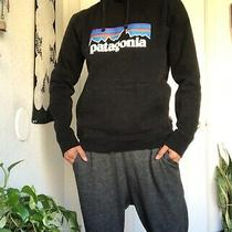 Patagonia Uprisal Hoodie Size S (Fits Like a Woman's Xs) Black Pullover Logo Photo