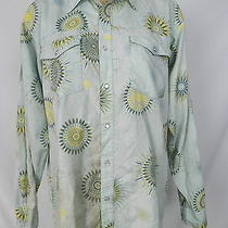 Patagonia Vintage Pearl Snap Organic Cotton Western Camp Shirt Medium Rare Euc Photo