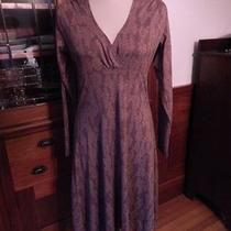 Patagonia Vintage-Style Dress Mauve Floral Large Photo
