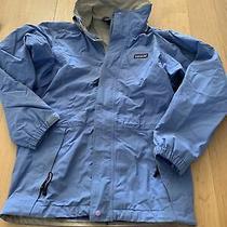 Patagonia Waterproof Shell Jacket Gore Tex Women's Xs Blue Photo