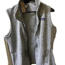 Patagonia Women's Better Sweater Fleece Vest 25887 Birch White Size  Xl Nwt Photo