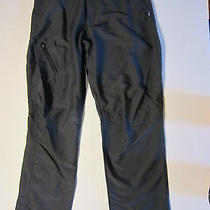 Patagonia Women's Black Nylon Long Hiking Outdoors Pants Outdoors Sz 8 Photo