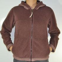 Patagonia Women's Brown Synchilla Fleece Sweater Snug Warm Jacket M Photo
