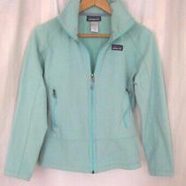 Patagonia Women's Light Blue Fleece Full Zip Jacket Size Xs Photo