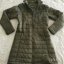Patagonia Women's Sz Xs Sage Khaki Insulated Radalie Parka Jacket F288802 Photo