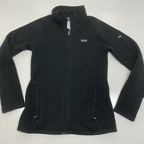 Patagonia Womens Better Sweater Full Zip  Jacket Sz Xs Black Photo