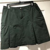 Patagonia Womens Green Organic Cotton Skirt Size 4 Photo