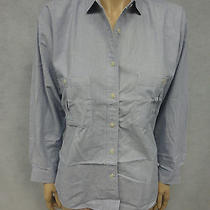 Patagonia Womens Sz S Blue Button Shirt Top Photo