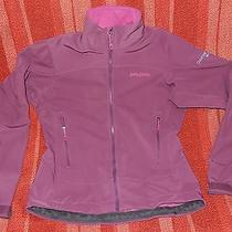 Patagonia Womens Sz S Polartec Softshell Wind Blocker Purple Photo