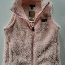 Patagonia Youth Size L (12) Pink Fleece Los Gatos Vest Jacket Photo