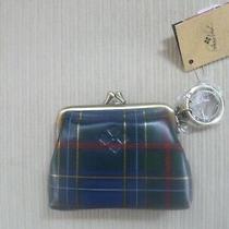 Patricia Nash Blue Plaid Coin Purse Wallet Nwt Photo