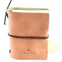 Patricia Nash Pink Blush Smooth Leather Organizer Mini Agenda Spezia Book 39- Photo